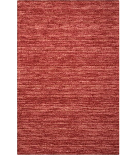 Grand Suite Ottoman Hand-Woven Cordial Area Rug by Waverly