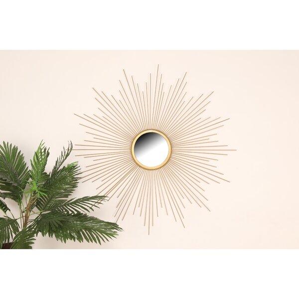 Cadwalader Sunburst Wall Accent Mirror by Mercer41