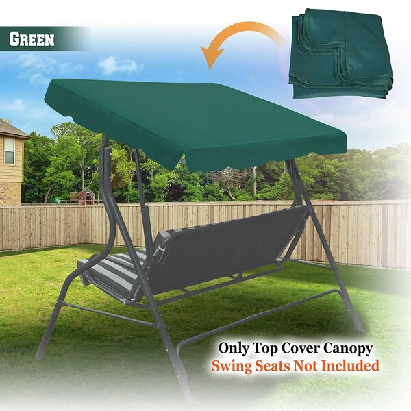 Carraway Patio Gazebo Porch Swing Canopy by Freeport Park