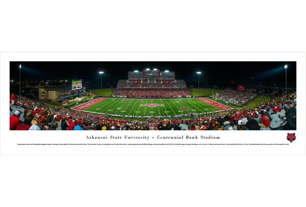 NCAA Arkansas State University Photographic Print by Blakeway Worldwide Panoramas, Inc