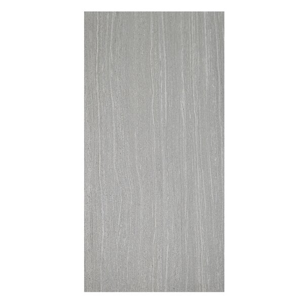 Volcano 12 x 24 Porcelain Field Tile in Grigio by Casa Classica