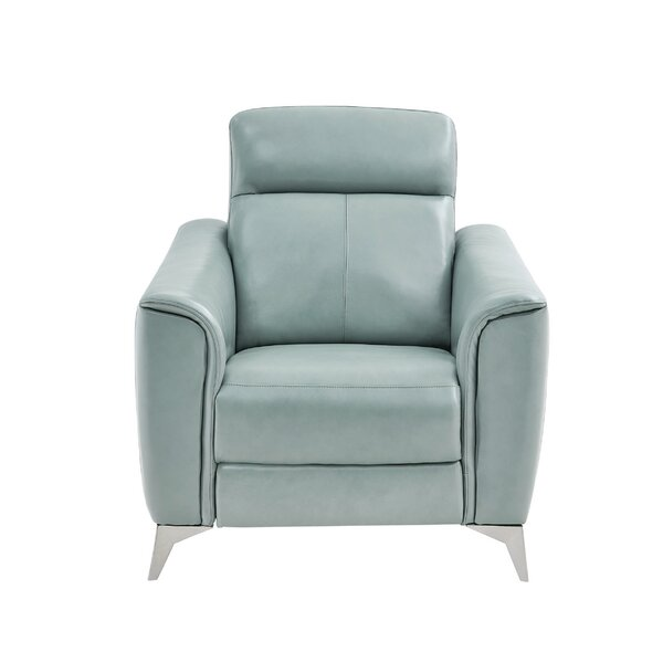 John-Paul Upholstered Power Wall Hugger Recliner By Ebern Designs