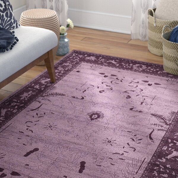 Shailene Purple Area Rug by Mistana