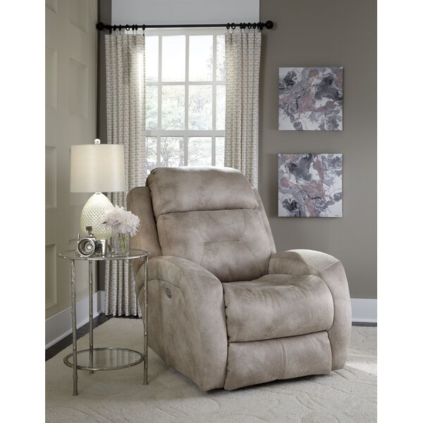 Showcase Manual Swivel Recliner by Southern Motion