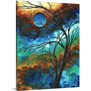 'Mystery of the Moon' by Megan Duncanson Graphic Art on Wrapped Canvas by Great Big Canvas