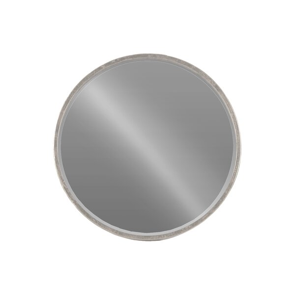 Metal Round Wall Mirror by Urban Trends