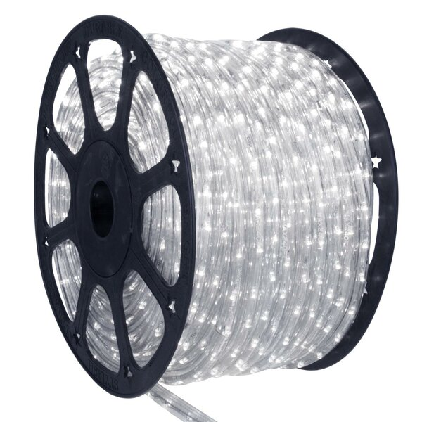 LED Indoor/Outdoor Christmas Rope Lights on a Spool by Northlight Seasonal