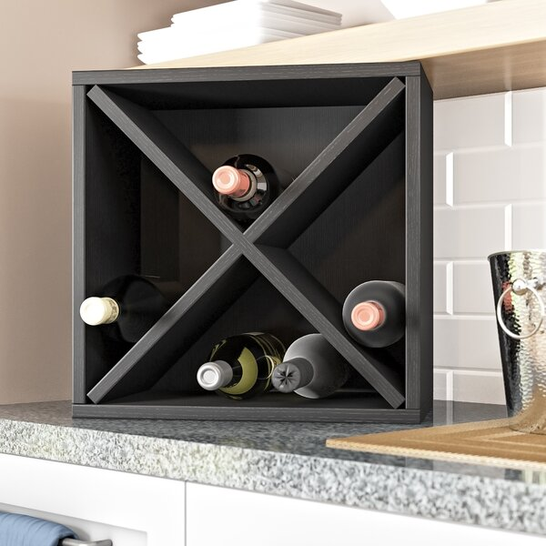 Tallent 12 Bottle Tabletop Wine Bottle Rack by Ebern Designs