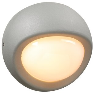 Compare & Buy Schumaker 1-Light Outdoor Flush Mount By World Menagerie