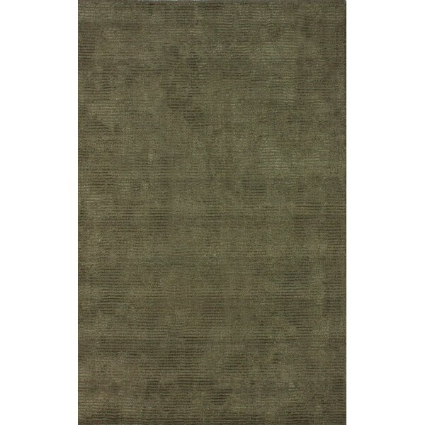 Goodwin Hand-Tufted Wool Olive Area Rug by nuLOOM