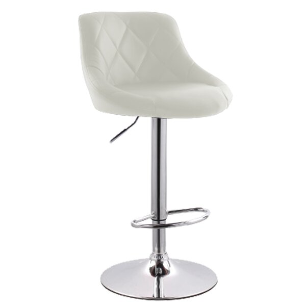 Secaucus  Adjustable Height Bar Stool by Latitude Run