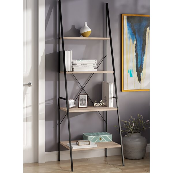Rech 4 Tier Etagere Bookcase by Wrought Studio