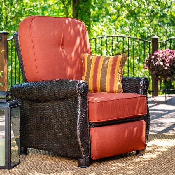 Breckenridge 2 Piece Rattan Sunbrella Sofa Seating Group with Cushion by La-Z-Boy Outdoor