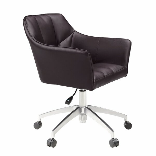 Mcmillin Adjustable Height Office Chair by Ivy Bronx