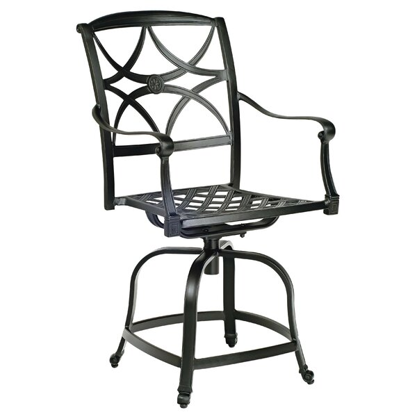 Wiltshire Swivel Patio Bar Stool by Woodard