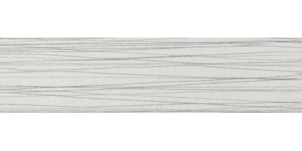 Thread 12 x 3 Porcelain Bullnose Tile Trim in Silver by Emser Tile
