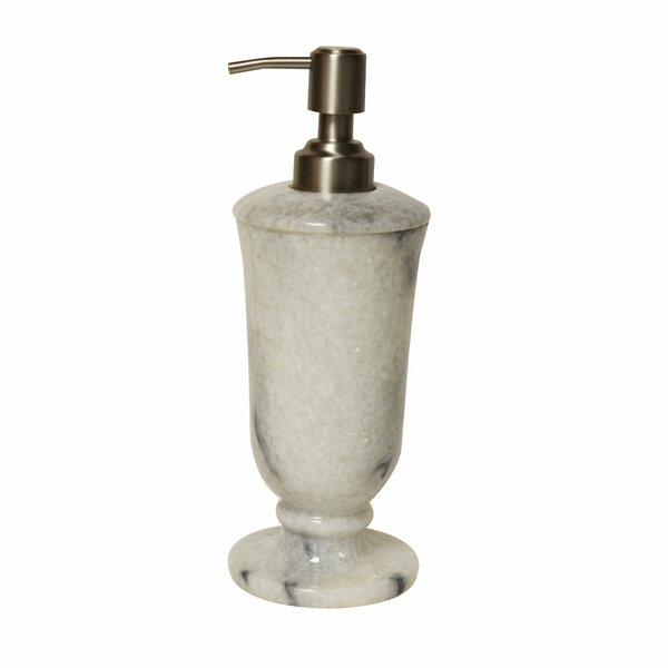 Polished Marble Chipman Cloud Lotion Dispenser by Darby Home Co