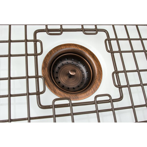 3.5 Grid Kitchen Sink Drain by Sinkology