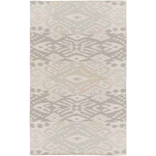 Evelyn Light Gray Area Rug by Millwood Pines