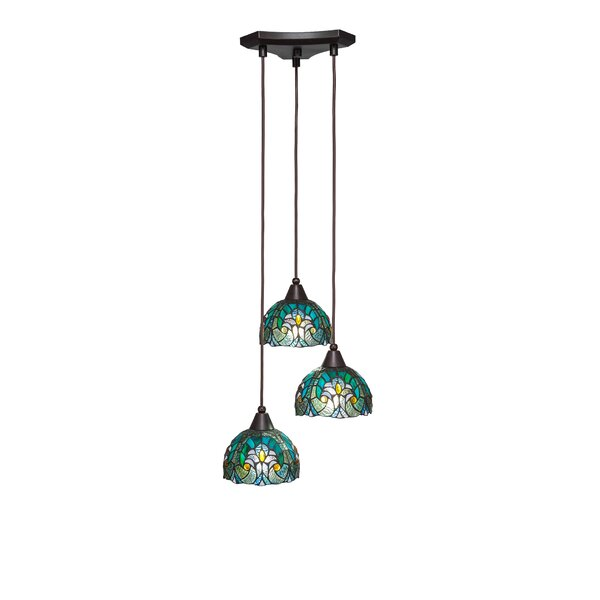 Nessa 3-Light Pendant by Red Barrel Studio