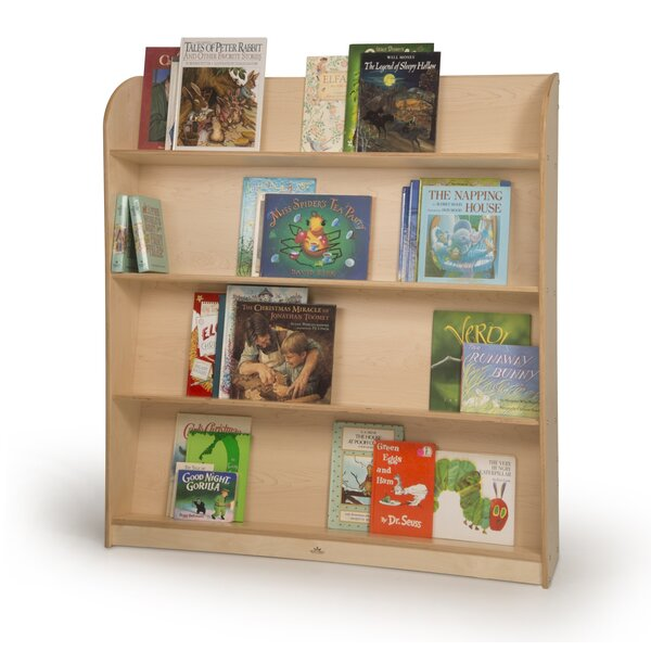 Single Sided Library Standard Bookcase by Symple Stuff