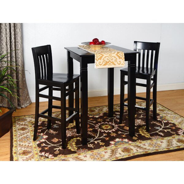 Vivas 3 Piece Pub Table Set by Red Barrel Studio