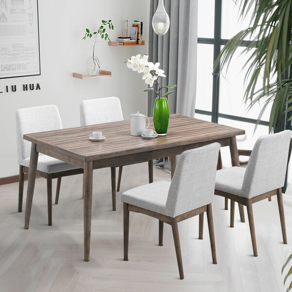 Easterling 5 Piece Dining Set by George Oliver