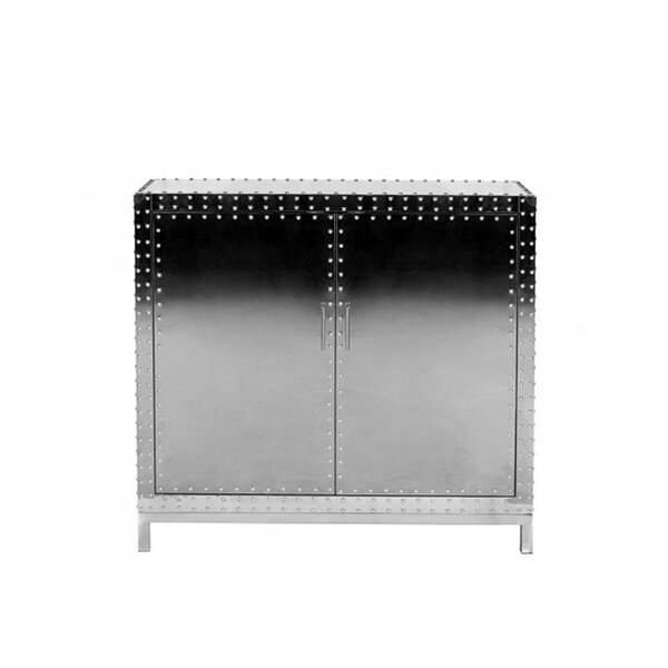 Katelyn Studded 2 Door Accent Cabinet by 17 Stories