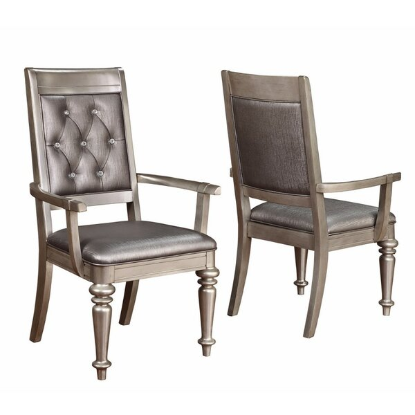 Lincolnwood Tufted Back Upholstered Dining Chair (Set of 2) by Rosdorf Park
