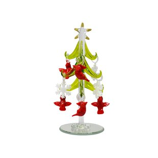 tree with ornament cardinal and snowflake the holiday aisle jpg 310x310 christmas ornaments wayfair snowflake woodsy