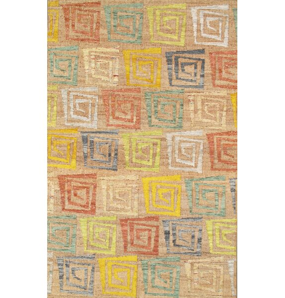 Sumak Vegetable Dye Hemp and Sari Silk Area Rug by Pasargad