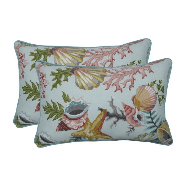 Vyron Seamist Indoor/Outdoor Lumbar Pillow (Set of 2)