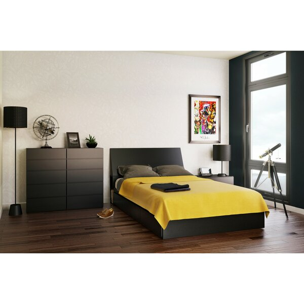Chelsey Wood Platform Bed with Storage by Zipcode Design
