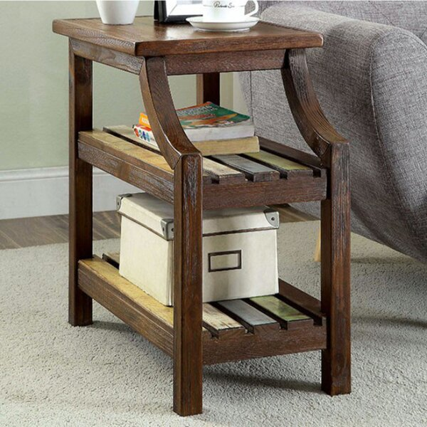 Werth End Table with Storage by Millwood Pines
