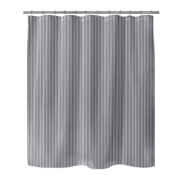 Mairead Stripe Shower Curtain by Highland Dunes
