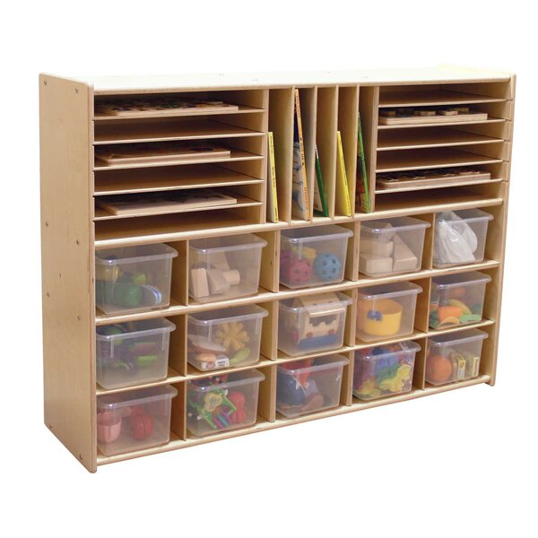 Clarendon 32 Compartment Cubby with Trays by Sympl