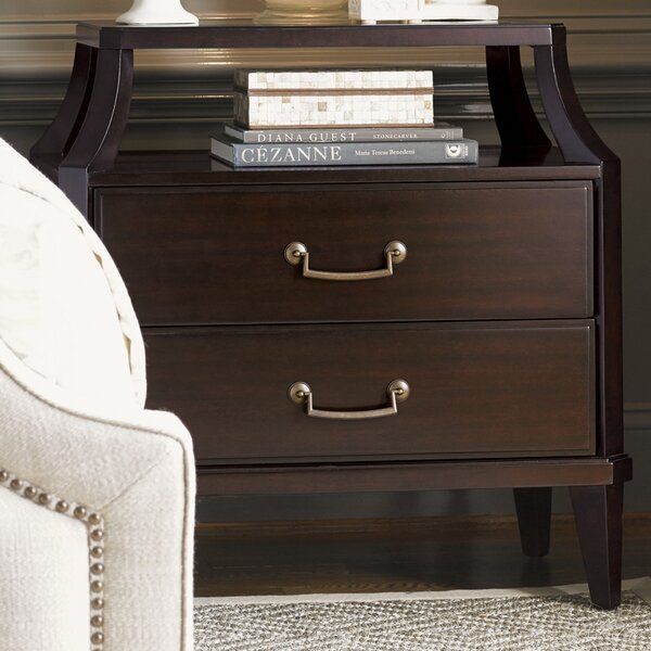 Kensington Place 2 Drawer Nightstand by Lexington