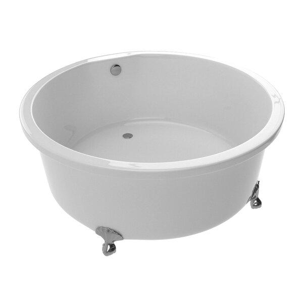 Cantor 59.06 x 59.06 Freestanding Soaking Bathtub by ANZZI