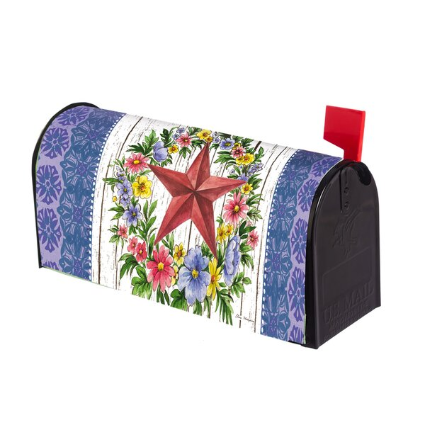 Summer Country Star Mailbox Cover by Evergreen Fla