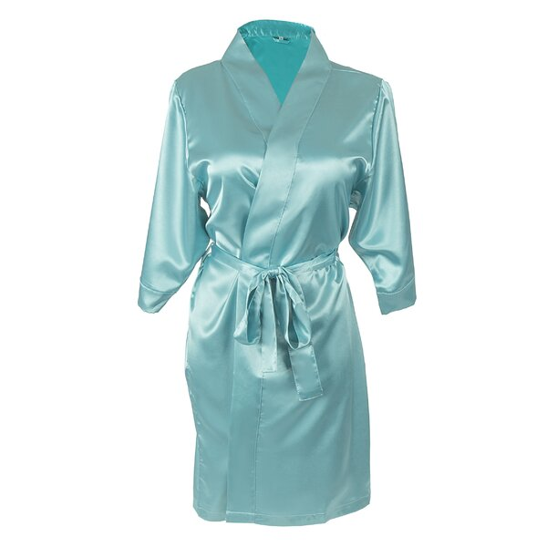 Team Bride Satin Bathrobe by Cathys Concepts
