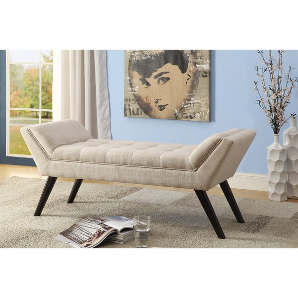 Baxton Studio Upholstered Bench by Wholesale Interiors
