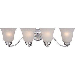Price Check Birdsall 4-Light Vanity Light By Three Posts