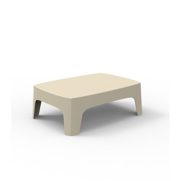 Solid Plastic/Resin Coffee Table by Vondom