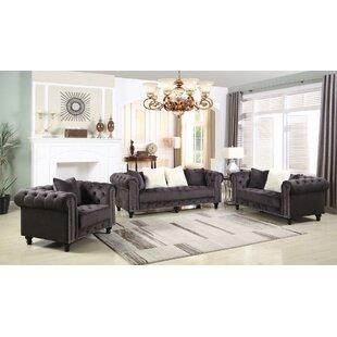 Leyton Upholstered 3 Piece Living Room Set Best Buy.