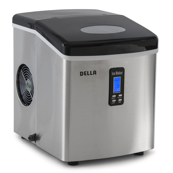 35 lb. Daily Production Ice Maker by Della