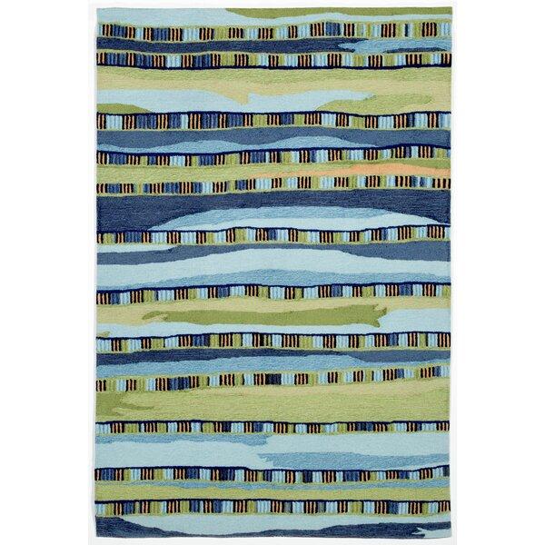 Derby Blue Area Rug by Ebern Designs