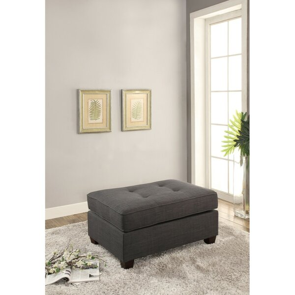 Holtz Cocktail Ottoman by Charlton Home