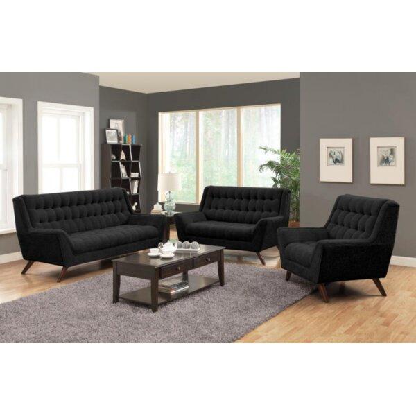 Britney 3 Piece Living Room Set by Corrigan Studio