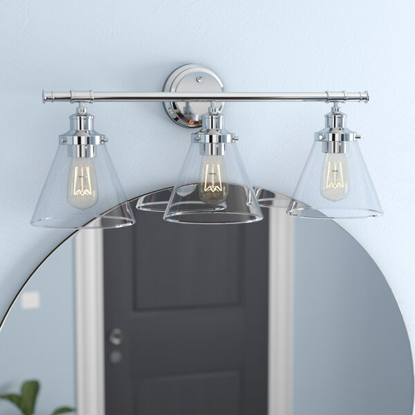 Kendrick 5-Piece 3-Light Vanity Light Set by Laurel Foundry Modern Farmhouse
