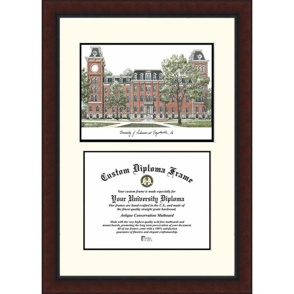 NCAA Arkansas University Legacy Scholar Diploma Picture Frame by Campus Images